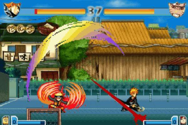 Hình ảnh đẹp trong game Naruto 2.8