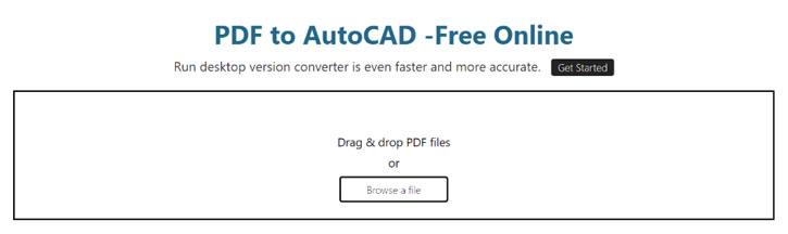 Hướng dẫn cách chuyển file PDF sang Cad
