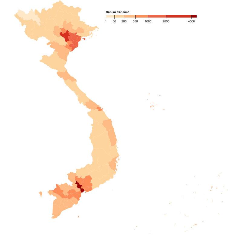 Khái niệm bản đồ Việt Nam vector không phải ai cũng biết
