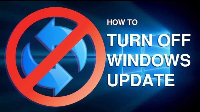 Làm thế nào để tắt update Win 10