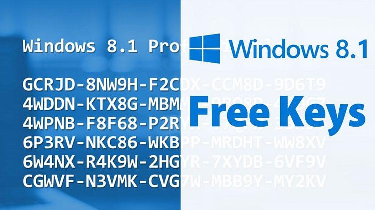 Phiên bản Home 6432 bit có những Key nào