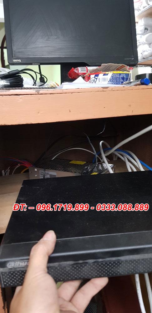 Thi công lắp đặt 6 camera 2.0 megapixel cho anh Nguyễn Tùng Linh 1