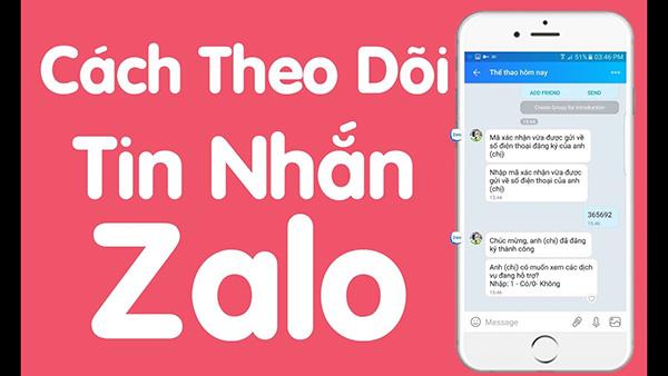 Tìm hiểu về cách theo dõi Zalo