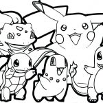 Mẫu tranh tô màu pokemon đẹp, ấn tượng, đầy tính sáng tạo [Tổng hợp]