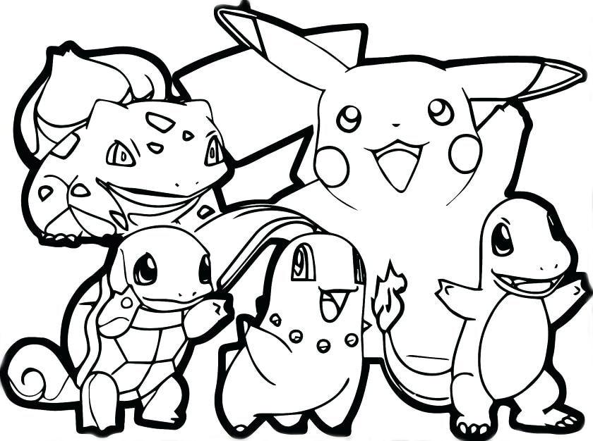 Tuyển tập hình ảnh tranh tô màu pokemon đẹp nhất