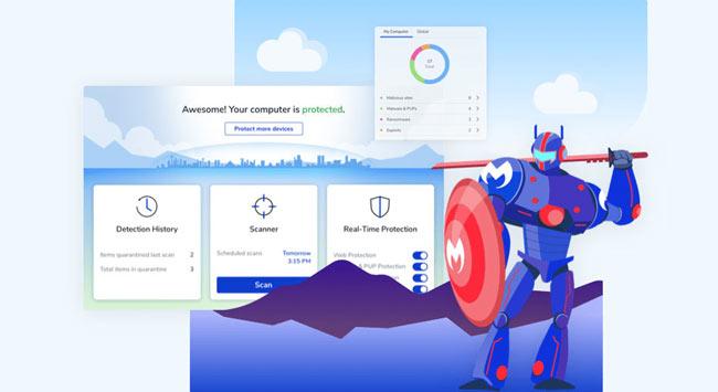 Phần mềm Malwarebytes Premium