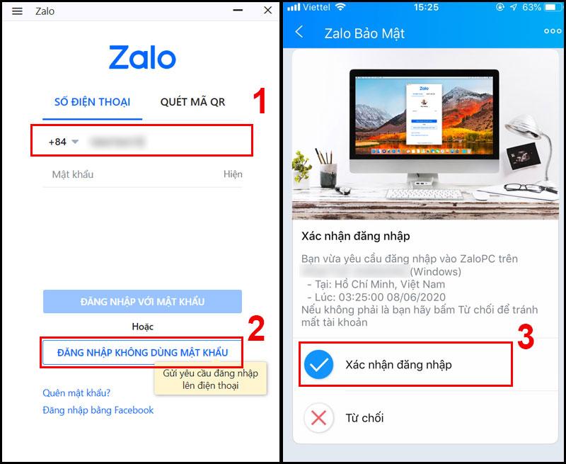 Hướng dẫn đăng nhập Zalo PC mà không cần sử dụng mật khẩu