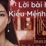 Lời bài hát Kiều Mệnh Khúc (Kiều OST) – Bùi Lan Hương