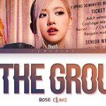 Lời bài hát On The Ground – ROSÉ