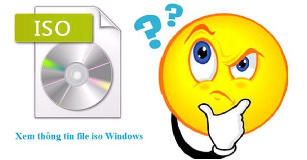 Các chức năng riêng biệt của file ISO