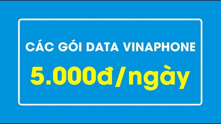 Các gói cước đăng ký 3G Vinaphone ngày