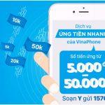 04 cách ứng tiền Vinaphone từ 5.000 đến 50.000 đồng nhanh nhất