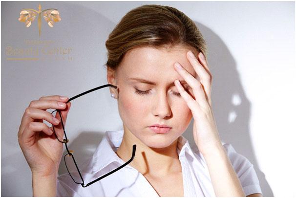 Mệt mỏi làm tăng khả năng nháy mắt trái.