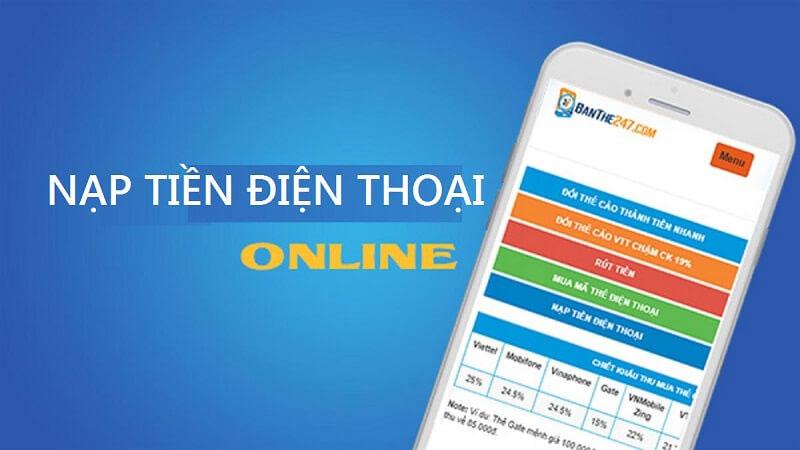 Nạp thẻ Vietnamobile online hiện đang được yêu thích và sử dụng phổ biến
