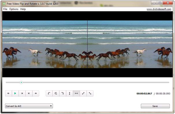Phần mềm Free Video Flip and Rotate - giải pháp hỗ trợ xoay video tuyệt vời