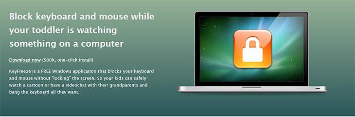 Phần mềm KeyFreeze