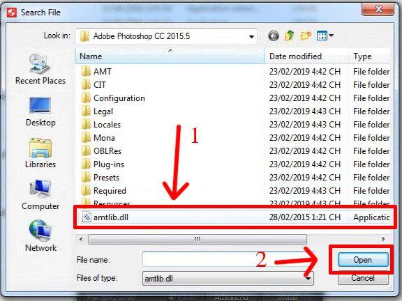 Tìm file amtlib