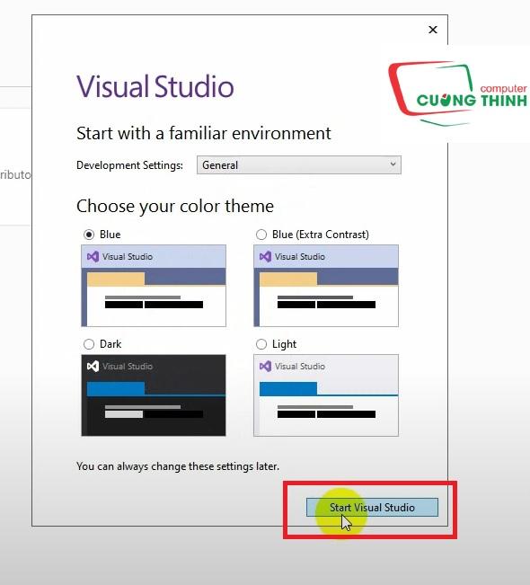 Chọn màu cho giao diện phần mềm