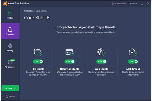 Avast! Free Antivirus - phần mềm diệt virus đẳng cấp