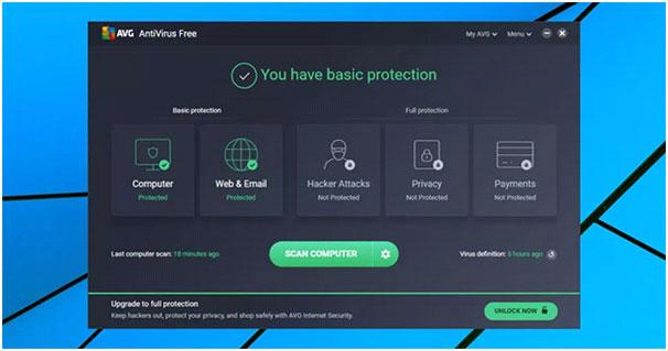 Phần mềm AVG Free Antivirus hữu hiệu