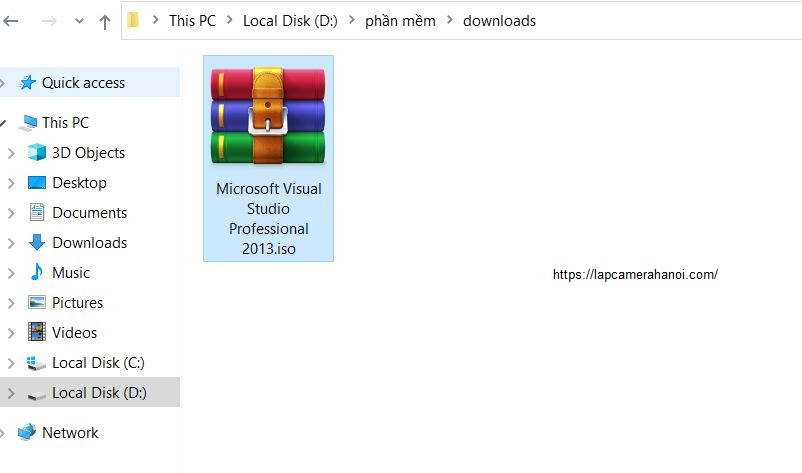 Tải phiên bản cầu Visual Studio 2013 phù hợp với nhu cầu về máy