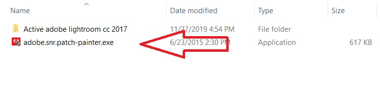 Tiến hành chạy file adobe.snr.patch-painter_exe