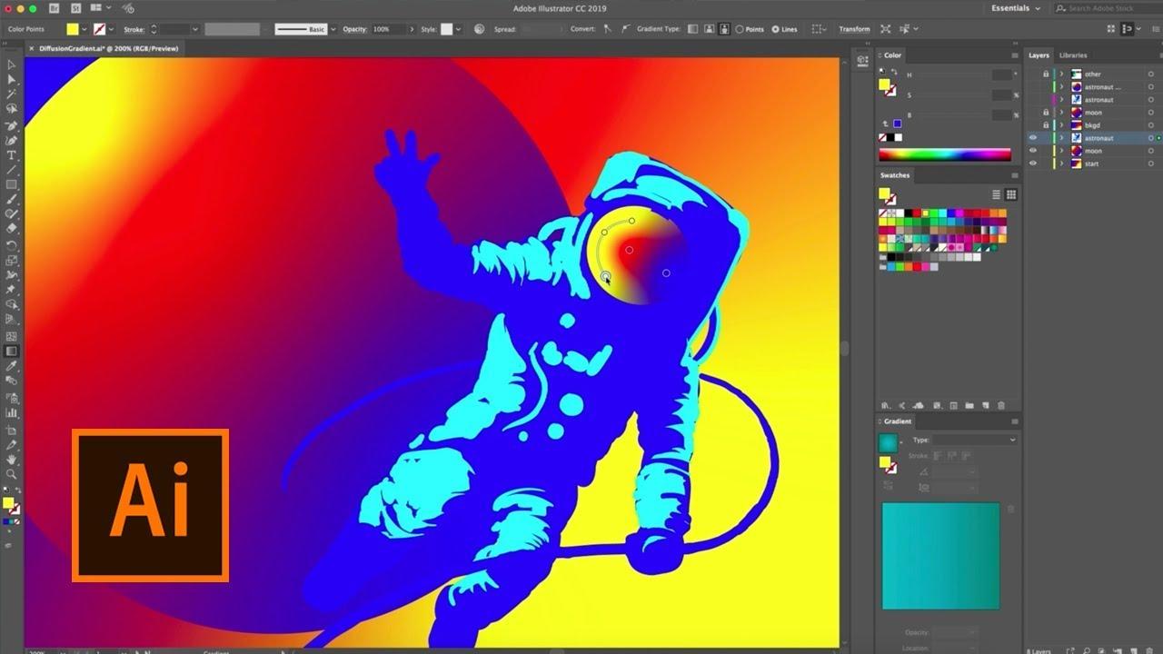 Tính năng mới của phần mềm Adobe illustrator cc 2018