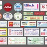 In tem niêm phong sản phẩm hàng hóa nhiều với nhiều mẫu mã đẹp