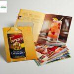 In brochure đẹp, giá rẻ Tp. HCM & thiết kế brochure gấp 3 cho công ty