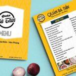 In menu thực đơn nhà hàng giá rẻ, đẹp tại Tp. HCM chuyên nghiệp
