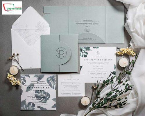 In thiệp mời sự kiện, thiệp cưới