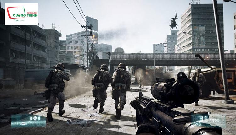 Một số điểm nổi bật trong Battlefield 3 Gameplay