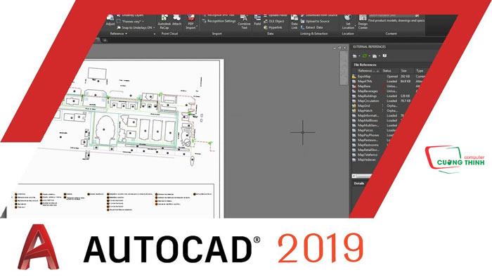 Phần mềm Autocad 2019